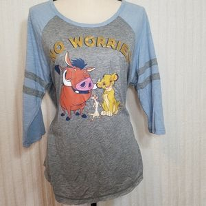 Disney The Lion King shirt. Size L, 12/14